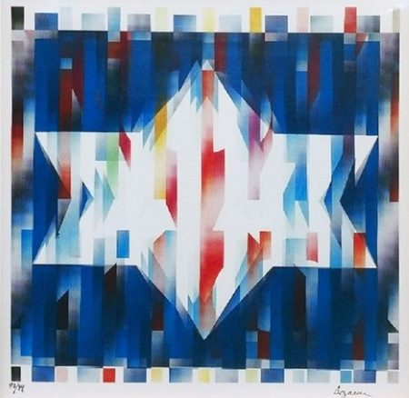 Star of Hope by Yaacov Agam